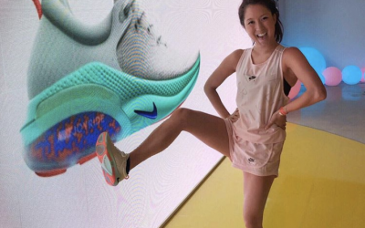 SARAH HOLLOWAY X NIKE JOYRIDE IN KOREA